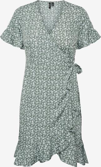 VERO MODA Kleid 'Henna' in grün / weiß, Produktansicht