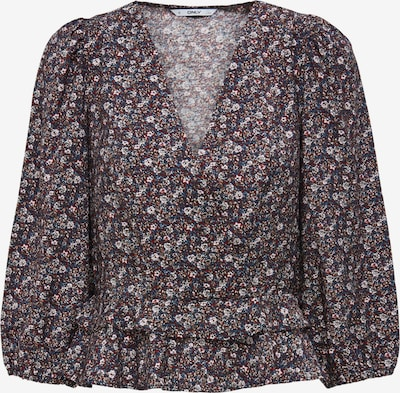 Camicia da donna 'Candy' ONLY di colore navy / blu fumo / marrone chiaro / rosso scuro / bianco, Visualizzazione prodotti