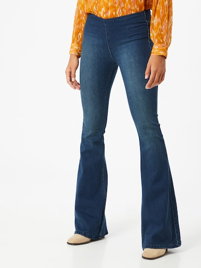 Free People Jeans 'Penny' in blue denim, Modelansicht