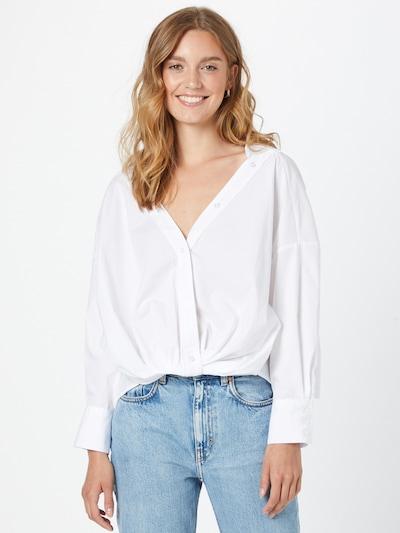 fehér Gina Tricot Blúz 'Dilan', Modell nézet