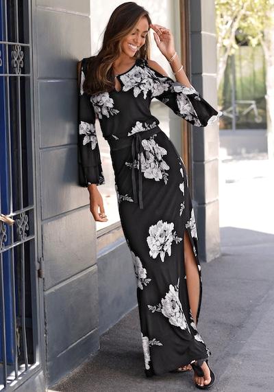 LASCANA Summer Dress in Black, View model