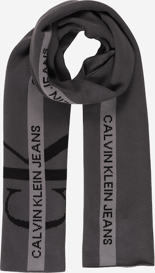 Calvin Klein Jeans Šál - grafitová / svetlosivá / čierna, Produkt