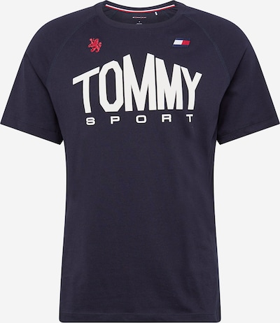 tengerészkék / piros / fehér Tommy Sport Funkcionális felső, Termék nézet