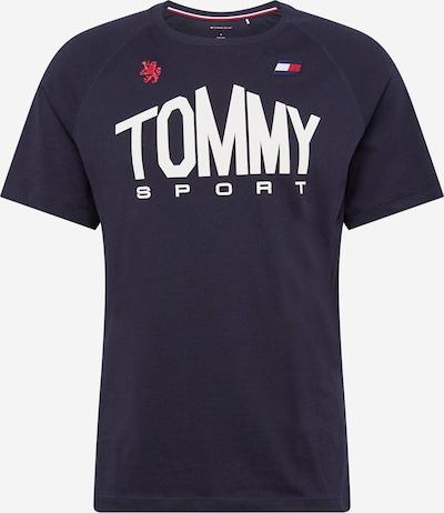 Tommy Sport Funktionsskjorte i navy / rød / hvid, Produktvisning