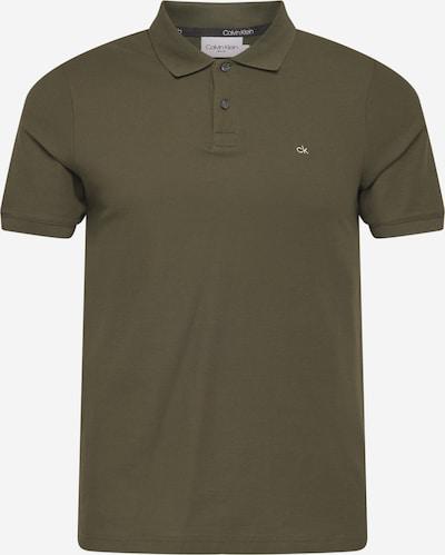 Calvin Klein T-Shirt in dunkelgrün, Produktansicht