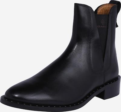 GANT Chelsea Boots 'Hampton' i sort: Frontvisning