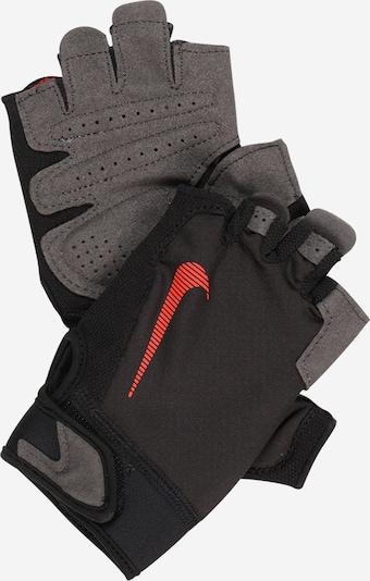 NIKE Accessoires Sports gloves 'Ultimate' in Grey / Red / Black, Item view