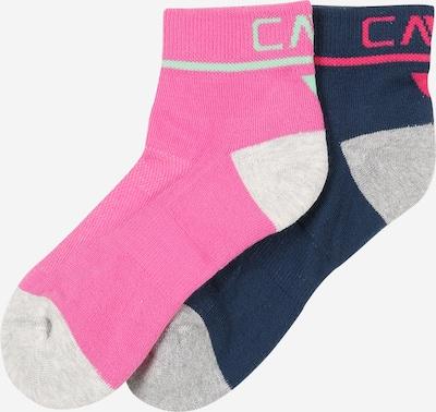 CMP Socken in marine / grau / pink, Produktansicht