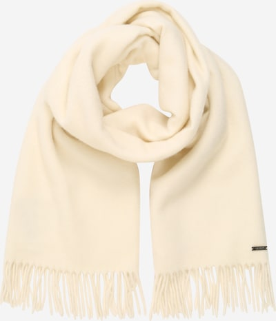 Fular Lauren Ralph Lauren pe alb natural, Vizualizare produs