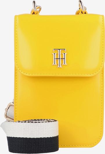 TOMMY HILFIGER Umhängetasche in dunkelblau / gelb / weiß, Produktansicht