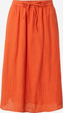VILA Skirt in Red