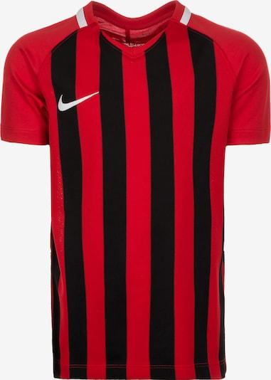 NIKE Trikot 'Division III' in rot / schwarz / weiß, Produktansicht