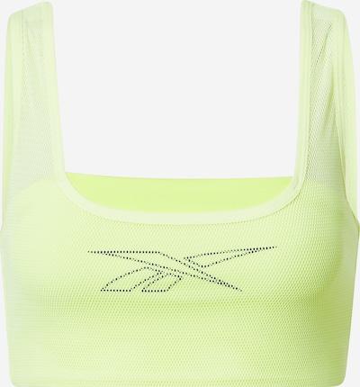 REEBOK Sportbehå i gul / svart, Produktvy