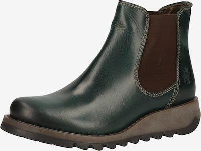 FLY LONDON Chelsea Boots in braun / dunkelgrün, Produktansicht