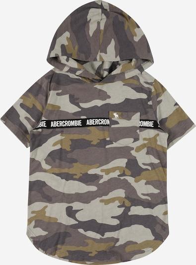 Abercrombie & Fitch Sweatshirt in grau / khaki / schwarz / weiß, Produktansicht