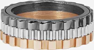 Tateossian London Ring in bronze / anthrazit / silber, Produktansicht