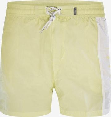 Shorts de bain ' Dante ' bugatti en jaune