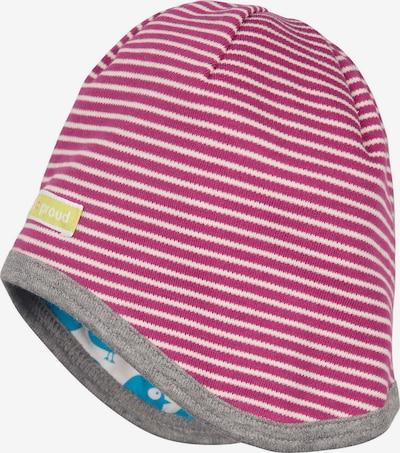 loud + proud Mütze in azur / rosa / weiß, Produktansicht