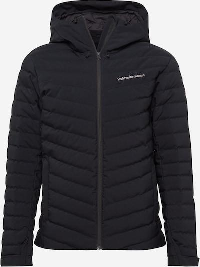 PEAK PERFORMANCE Sportjacke 'Frost' in schwarz, Produktansicht