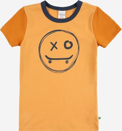 Fred's World by GREEN COTTON Majica 'Skate smile' u morsko plava / svijetlonarančasta / tamno narančasta, Pregled proizvoda