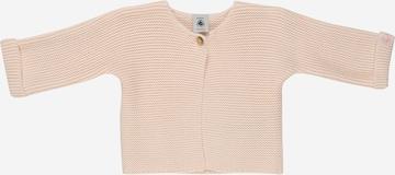 PETIT BATEAU Knit Cardigan in Beige