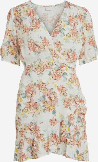 VILA Kleid 'Mina' in gelb / mint / hellpink / weiß, Produktansicht