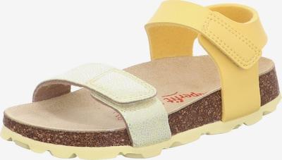 SUPERFIT Sandale in gelb / hellgrün, Produktansicht