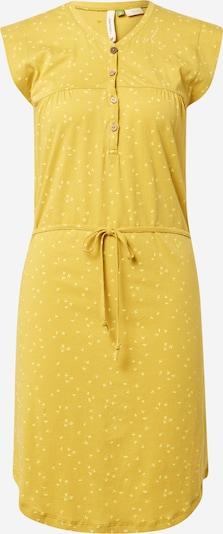 Ragwear Robe-chemise 'ZOFKA' en jaune d'or / blanc naturel, Vue avec produit