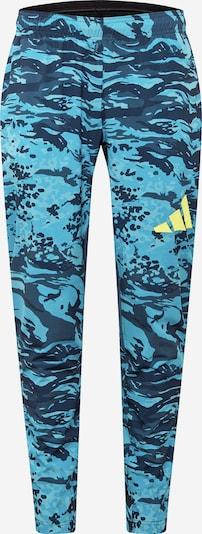 ADIDAS PERFORMANCE Pantalón deportivo en navy / azul claro, Vista del producto