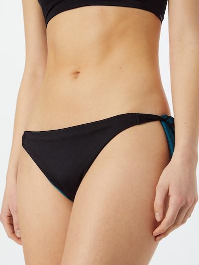 SLOGGI Bikinihose in petrol / schwarz, Modelansicht