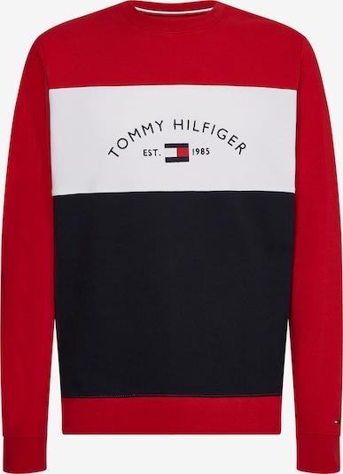 TOMMY HILFIGER Mikina - námořnická modř / karmínově červené / bílá, Produkt
