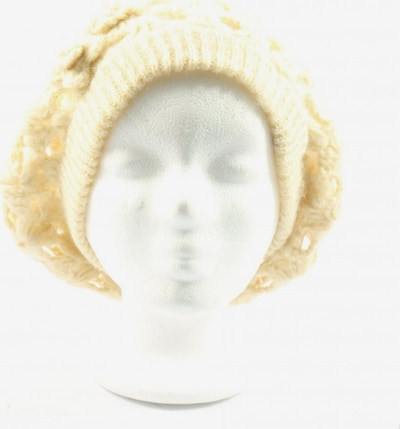 PIECES Hat & Cap in XS-XL in Wool white, Item view