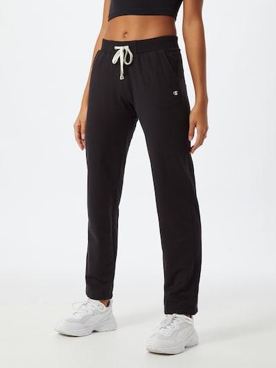 Champion Authentic Athletic Apparel Pantalón en negro, Vista del modelo