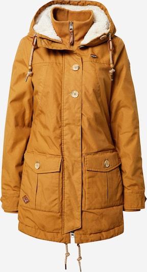 Ragwear Kurtka zimowa 'JANE' w kolorze musztardowy / białym, Podgląd produktu