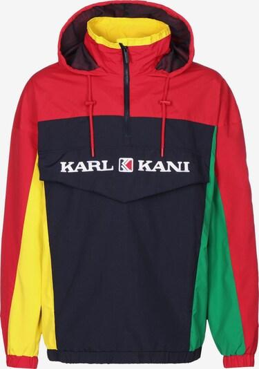 Karl Kani Tussenjas in de kleur Navy / Geel / Groen / Rood, Productweergave