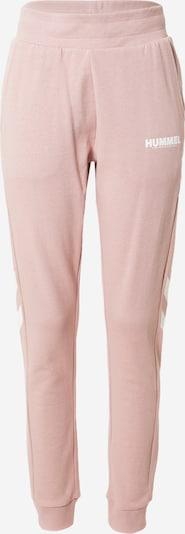 Hummel Pantalon de sport en violet clair, Vue avec produit