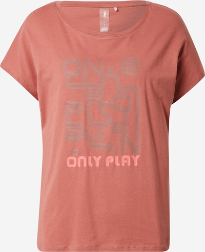 ONLY PLAY T-Shirt 'JIRINA' in grau / altrosa, Produktansicht