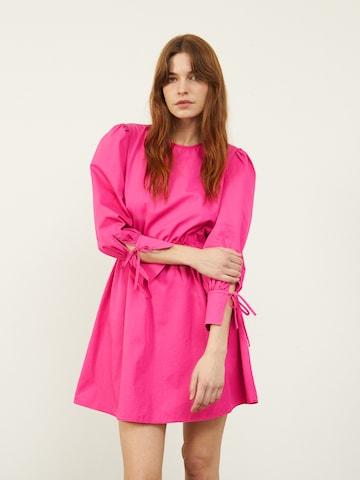 Aligne Jurk 'Carly' in Roze