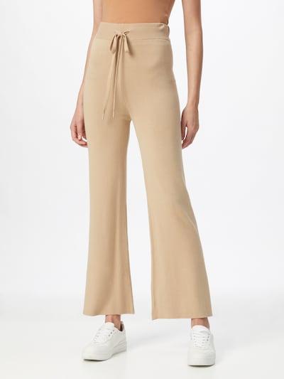 Karo Kauer Trousers 'BAILEY' in beige, View model