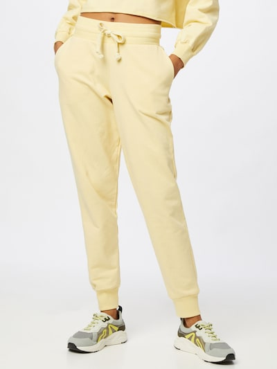 ABOUT YOU Trousers 'Teena' in Yellow, View model