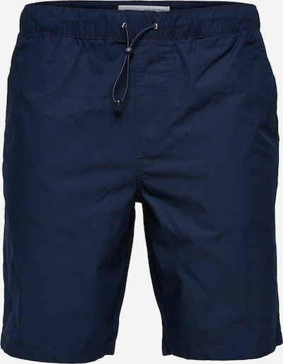 SELECTED HOMME Chino in de kleur Navy: Vooraanzicht