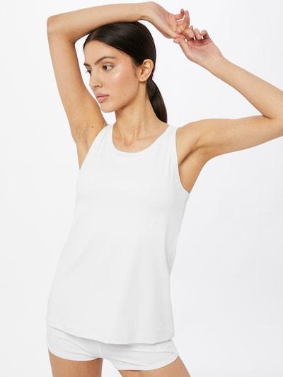 CURARE Yogawear Športni top | bela barva, Prikaz modela