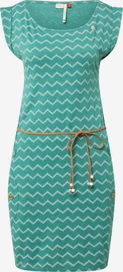 Ragwear Kleid in jade / weiß, Produktansicht