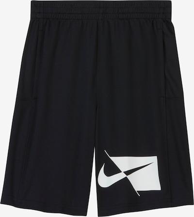 NIKE Sweatshorts in schwarz / weiß, Produktansicht