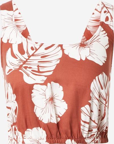ROXY Top en pitaya / blanco, Vista del producto