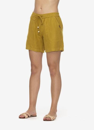 Ragwear Shorts in senf, Modelansicht