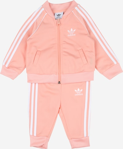 ADIDAS ORIGINALS Joggingpak in de kleur Pink / Wit, Productweergave