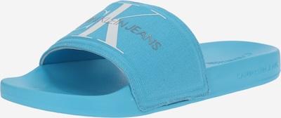 Calvin Klein Muiltjes in de kleur Aqua / Grijs / Wit, Productweergave