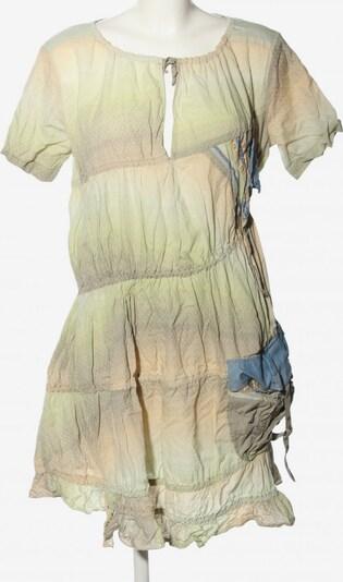 Marithé + François Girbaud Tunikakleid in M in blau / pastellgelb / wollweiß, Produktansicht