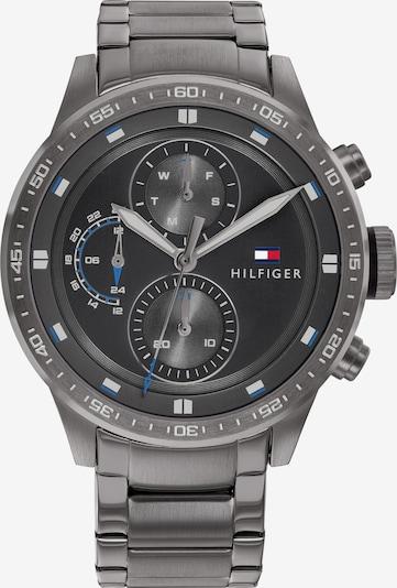 TOMMY HILFIGER Analógové hodinky - tmavosivá / biela, Produkt